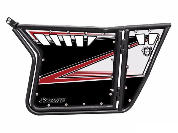Polaris RZR 570 / 800 / XP 900 Walker Evans Black/White LE Door Graphics