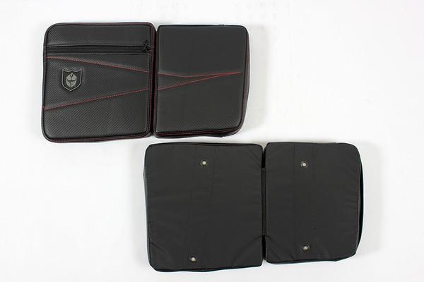 Polaris RZR 4 Rear Door Knee Pads with Storage by Pro Armor