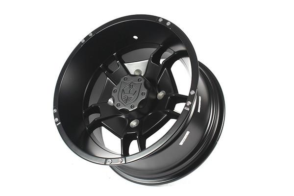"Polaris RZR 14 x 8"" Black Ryder Wheels by Pro Armor"