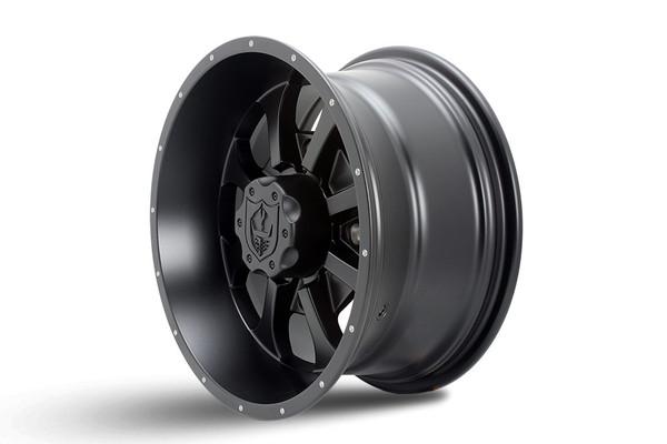 "Polaris RZR 14 x 7"" Black Knight Wheels by Pro Armor"