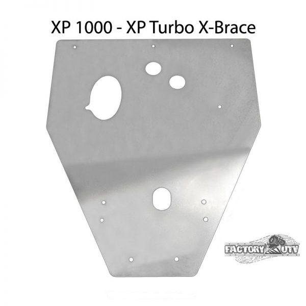 "Polaris RZR 4 XP 1000 3/8"" UHMW Skid Plate by Factory UTV"
