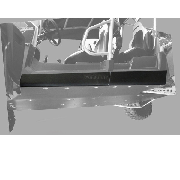 "Polaris RZR 4 800 / XP 900 3/8"" UHMW Rock Sliders by Factory UTV"