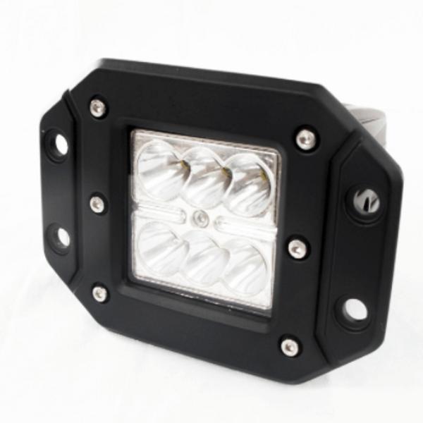 Polaris RZR 3 Inch 18 Watt Street Series LED Flush Mounted Lights - Race Sport Lighting