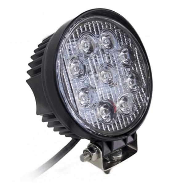 Polaris RZR 4 Inch 27 Watt Street Series LED Round Light Kit - Race Sport Lighting