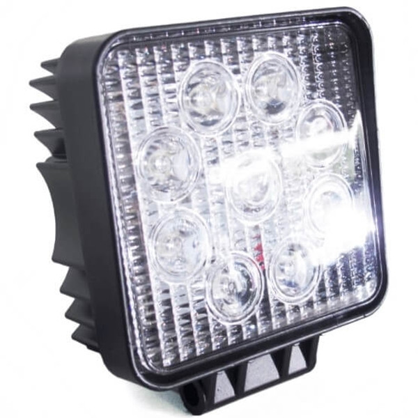 Polaris RZR 4 Inch 27 Watt Street Series LED Square Light Kit by Race Sport Lighting