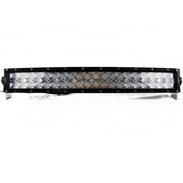 Polaris RZR 21.5 Inch ECO-Light Series Curved Double Row LED Light Bar by Race Sport Lighting