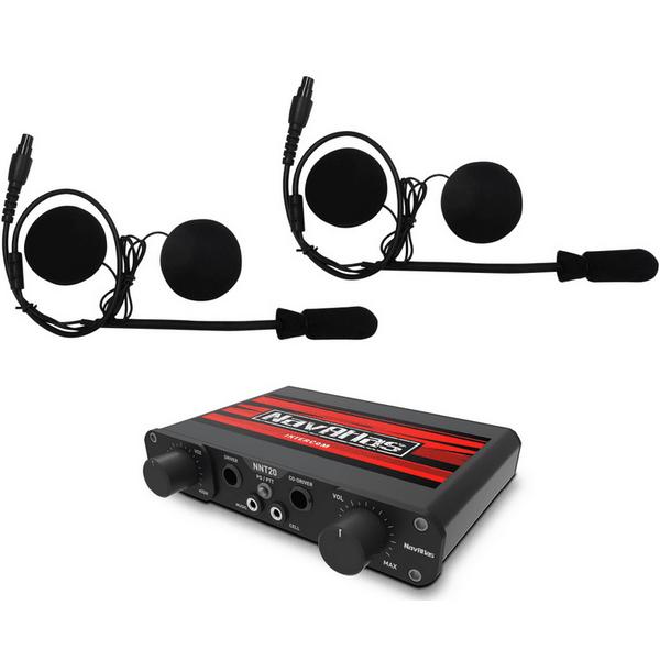 Polaris RZR 2 Person Intercom System with In-Helmet Earphones by NavAtlas