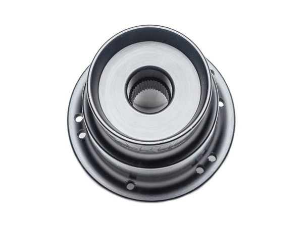 2008-2018 Polaris RZR Steering Wheel Hub 5/6 Billet Anodized Black by UTV INC