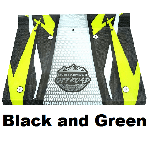 2009-18 Polaris RZR 170 Polycarbonate UV Printed Top by Over Armour Offroad