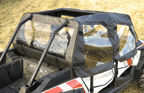 2014-19 Polaris RZR XP 4 1000/XP 4 Turbo Soft Doors and Rear Window by Over Armour Offroad