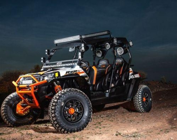 Polaris RZR 4 800 Extreme Fender Flares by MudBusters