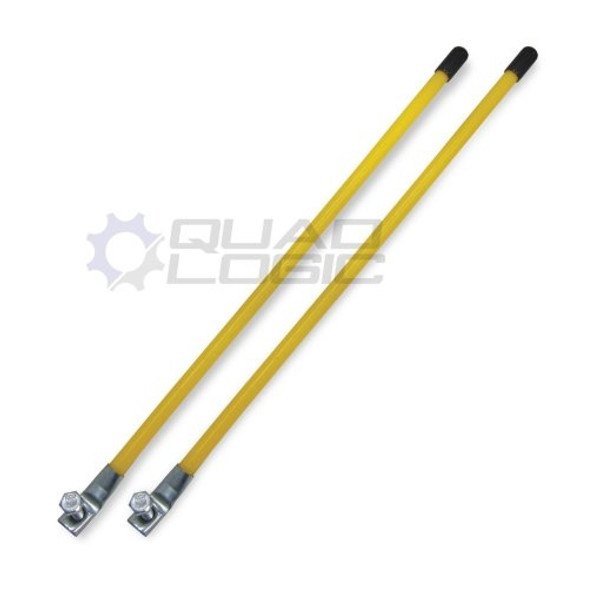Polaris RZR 50″ 60″ 72″ Snow Plow Blade 16″ Marker Kit for Moose Utilities Plows Same as M91-50040 by Quad Logic