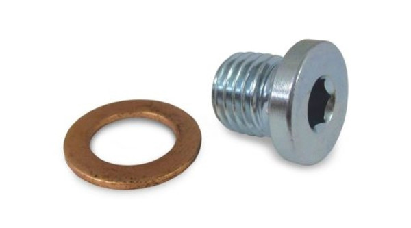Polaris RZR 1000 Crankcase Engine Oil Drain Plug and Washer by Quad Logic