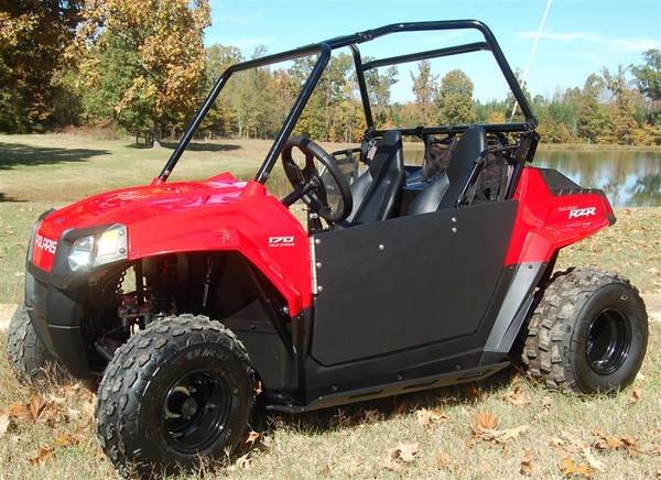 Polaris RZR 170 Half Door Style Debris and Mud Shields by Trail Armor