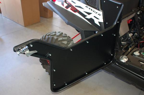 Polaris RZR 1000/Turbo Low Boy Half Style Opening Suicide Removable Black Doors by UTV Inc