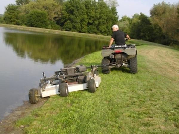 "Polaris RZR 44"" Rough Cut Mower by Kunz"