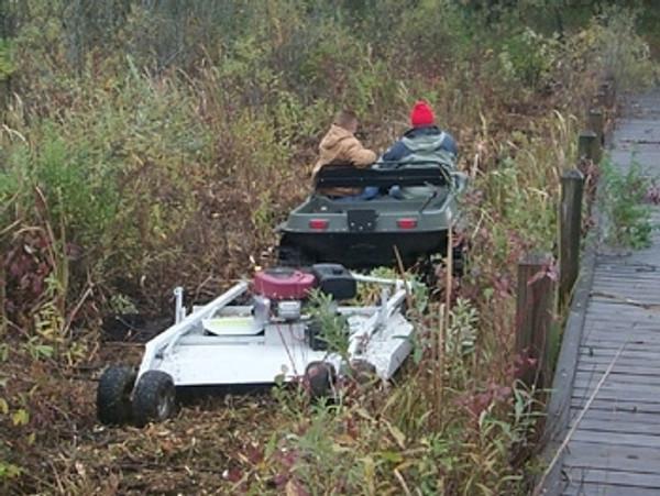 "Polaris RZR 44"" Rough Cut Mower - Kunz"