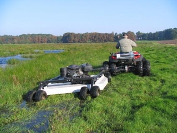 "Polaris Ranger 57"" Rough Cut Mower by Kunz"