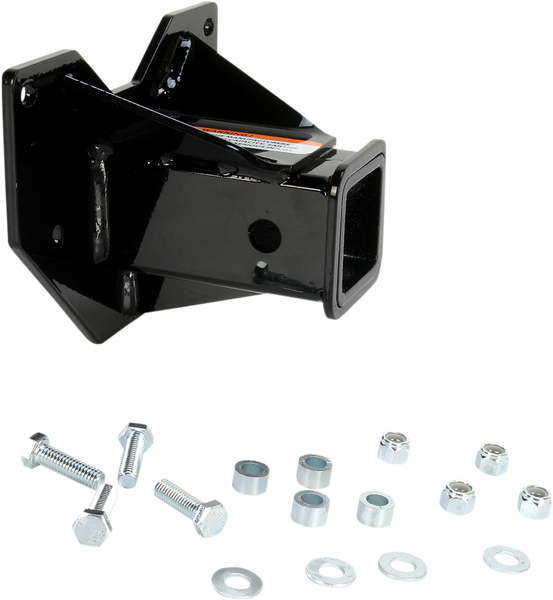"""Polaris RZR/ACE 2"""" Receiver Hitch by Moose"""