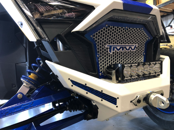 Polaries RZR Pro XP Winch Front Bumper by TMW Offroad