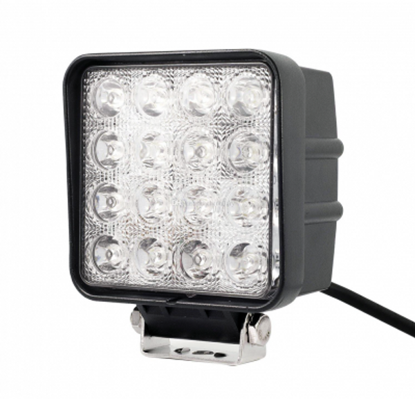 Polaris RZR 4 Inch Work Light 48 Watt Spot Fracture Series by Quake LED