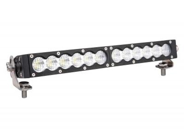 Polaris RZR 13 Inch LED Light Bar Single Row 60 Watt Spot Carbon Series by Quake LED