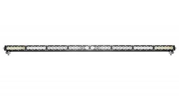 Polaris RZR 50 Inch LED Light Bar Single Row 240 Watt Combo Carbon Series by Quake LED