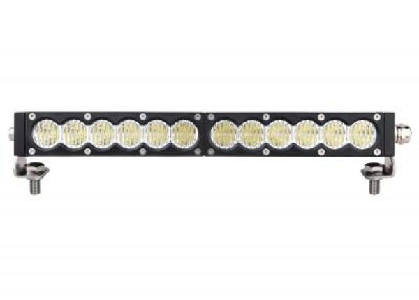 Polaris RZR 20 Inch Led Light Bar Single Row 90 Watt Combo Carbon Series