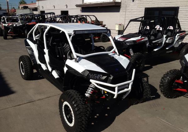 X4 Rear bumper cage