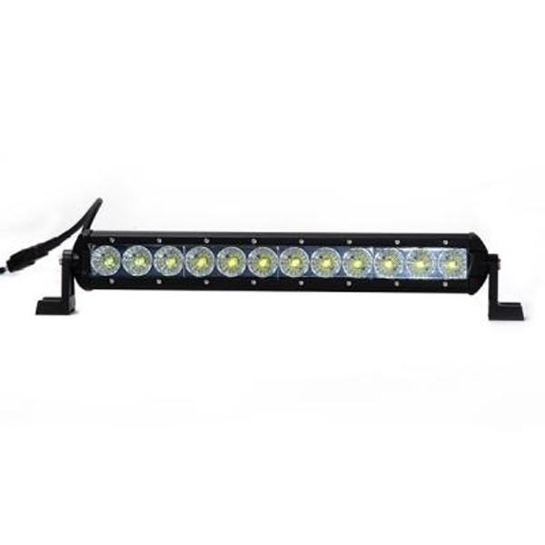 Polaris RZR 14 Inch LED Light Bar Single Row 36 Watt Combo Obsidian Series by Quake LED