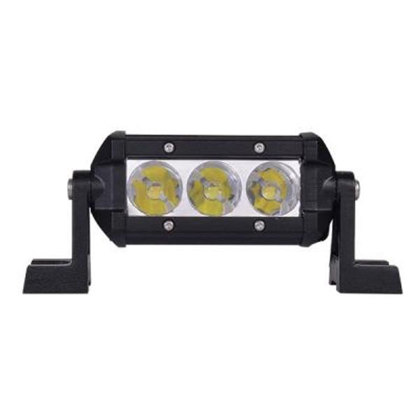 Polaris RZR 4.5 Inch LED Light Bar Single Row 9 Watt Spot Obsidian Series