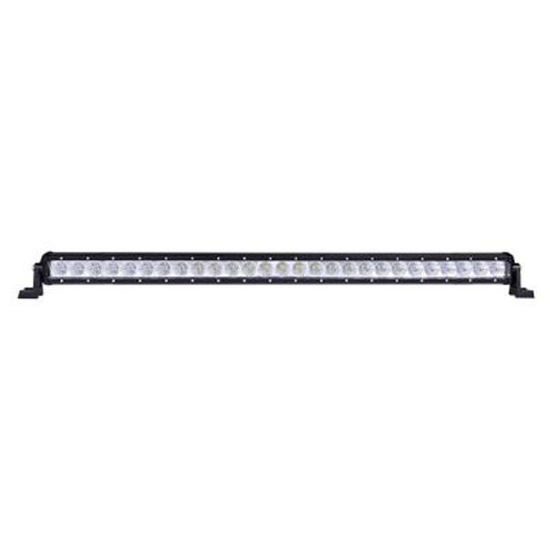 Polaris RZR 32 Inch LED Light Bar Single Row 81 Watt Combo Obsidian Series by Quake LED