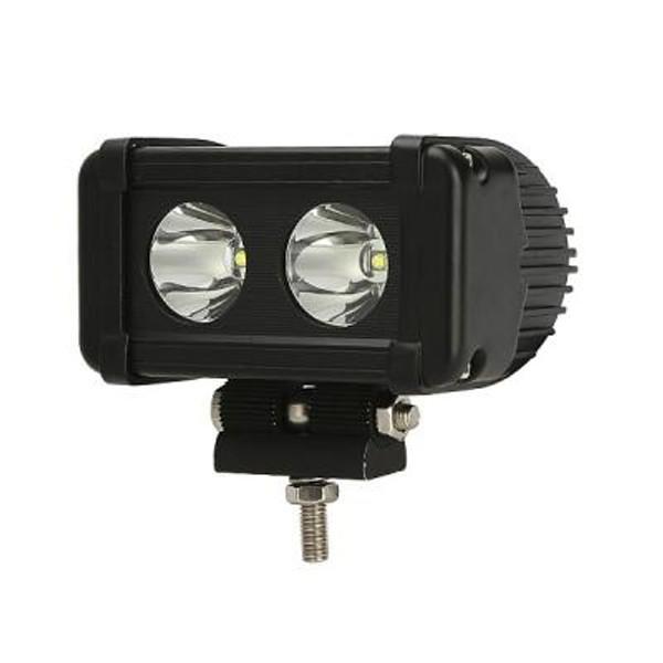 Polaris RZR 5 Inch LED Light Bar Single Row 20 Watt Spot Rogue Series by Quake LED