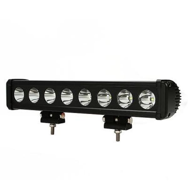 Polaris RZR 15 Inch LED Light Bar Single Row 80 Watt Spot Rogue Series