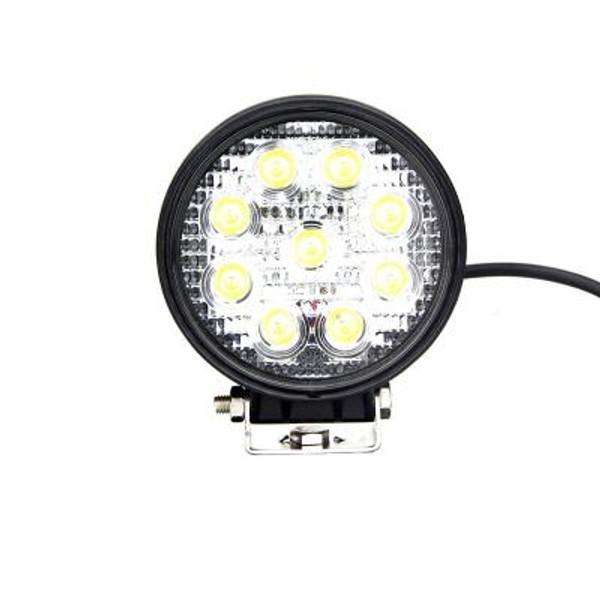 Polaris RZR 4 Inch Work Light 27 Watt Spot Fracture Series by Quake LED