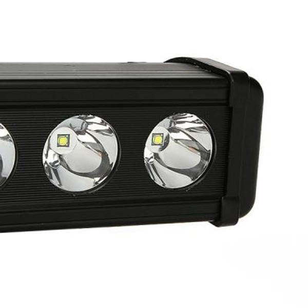 Polaris RZR 44 Inch Led Light Bar Single Row 240 Watt Spot Rogue Series