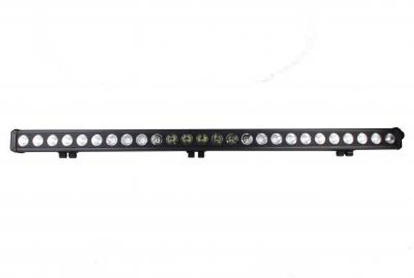 Polaris RZR 48 Inch LED Light Bar Single Row 260 Watt Spot Rogue Series by Quake LED