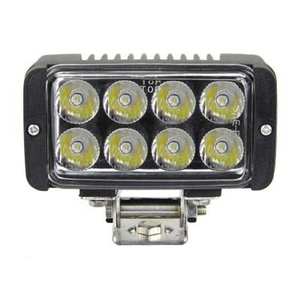Polaris RZR 5 Inch Work Light/Headlight 24 Watt Spot Tempest Series By Quake LED