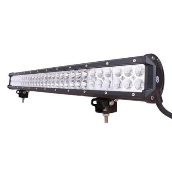 Polaris RZR 28 Inch LED Light Bar Dual Row 180 Watt Combo Defcon Series by Quake LED