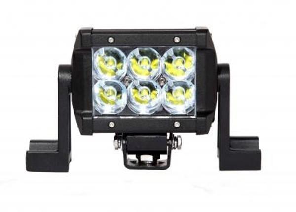 Polaris RZR 4.5 Inch LED Light Bar Dual Row 18 Watt Spot Ultra II Series