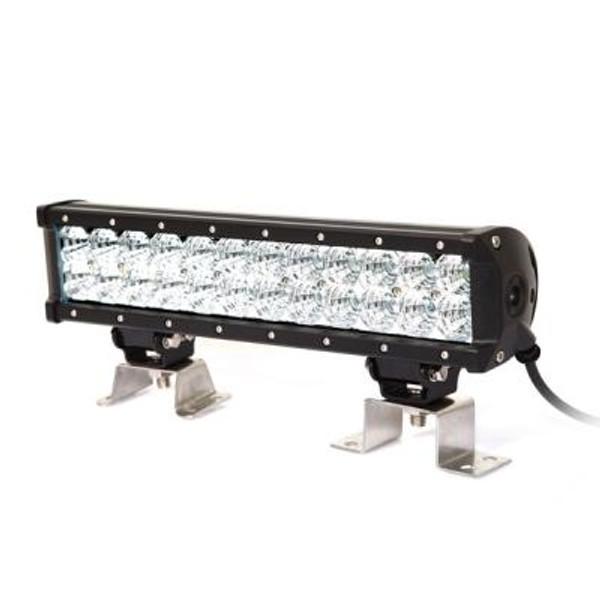Polaris RZR 13.5 Inch LED Light Bar Dual Row 72 Watt Combo Ultra II Series by Quake LED