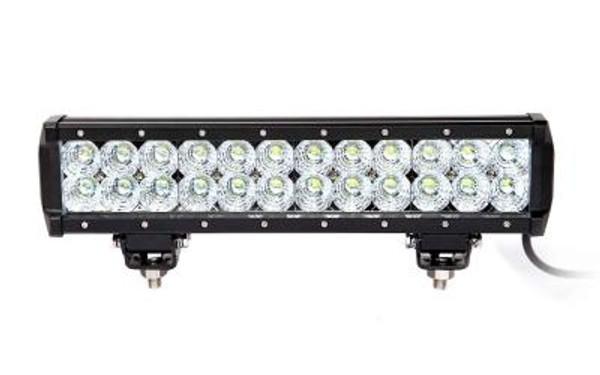 Polaris RZR 13.5 Inch LED Light Bar Dual Row 72 Watt Combo Ultra II Series