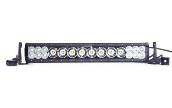 Polaris RZR 20 Inch LED Light Bar Dual Row 116 Watt Combo Hybrid Series