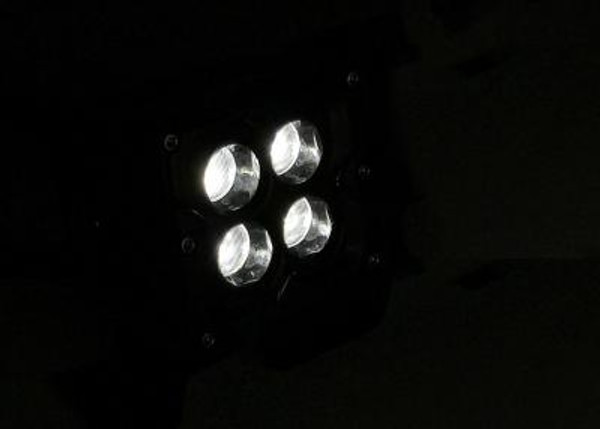 Polaris RZR 3 INCH WORK LIGHT 20 WATT FLOOD SEISMIC SERIES