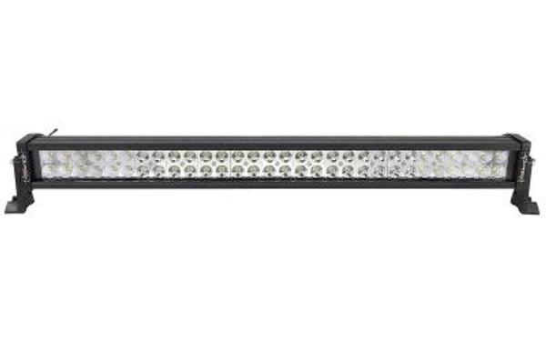 Polaris RZR 32 Inch LED Light Bar Dual Row 180 Watt Combo Supernova Strobe Series White/Amber Strobe by Quake LED