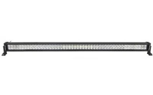 Polaris RZR 53 Inch LED Light Bar Dual Row 300 Watt Combo Supernova Strobe Series White/Amber Strobe by Quake LED