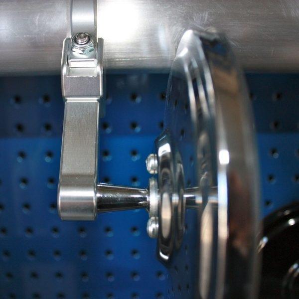 Polaris RZR 5.0″ Round Convex Glass Billet Arm Side Mirror