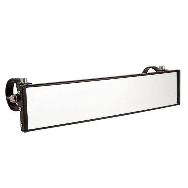Polaris RZR 12″ Wide Panoramic Rearview Mirror with 0.5″ Arms by Axia Alloys