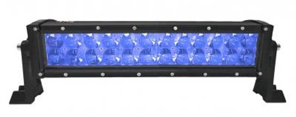 Polaris RZR 13.5 Inch LED RGB Light Bar Dual Row 72 Watt Combo Ultra Accent Series Quad-Lock/Interlock