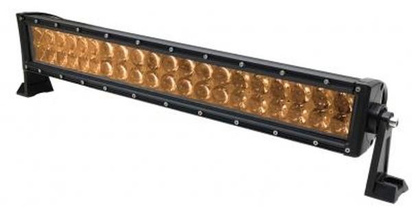 Polaris RZR 23 Inch LED RGB Light Bar Dual Row 120 Watt Combo Ultra Accent Series Quad-Lock/Interlock